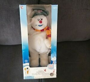 GEMMY Spinning Snowflake Frosty The Snowman Christmas Animated SINGING Dancing
