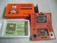 CONSOLE multiscreen  GAME WATCH DONKEY KONG MARIO BROS COMPLET