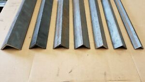 Mild Steel Metal Equal Angle Iron Stock Lengths Many Sizes And Lengths
