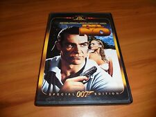 Dr. No (DVD, 2000, Widescreen) Sean Connery Used James Bond 007 Doctor