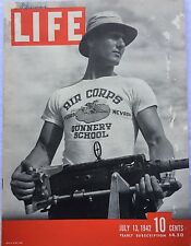 LIFE MAGAZINE Jul 13 1942 * Nazis Caught by FBI * Hollywood * Oklahoma * Egypt