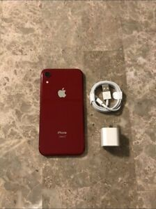 Apple iPhone XR (PRODUCT)RED - 64GB - (Unlocked) A1984 (CDMA + GSM)