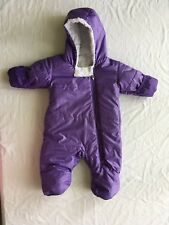 Spyder Ski Suit Snowsuit One Piece Purple 6 Month Infant Baby