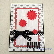 Handmade card - MUM    BIG Size 21 * 14.8 cm