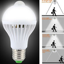 5W E27 LED PIR Motion Sensor Auto Lamp Bulb Infrared Energy Saving Light