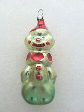 New ListingClown Circus Vintage Soviet Russian Christmas Ornament Old Glass Ussr Clothes