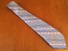 "vtg Envoy euc Soft Pink Paisley 100% Silk Tie Necktie men's 59"" 3"""