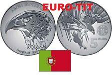 5,00  EURO  PORTUGAL  1  X  PIECE  NEUVE  TETE   D'AIGLE     2018   / disponible