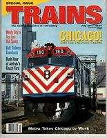 Trains Magazine Railroading July 1993 Chicago Railroad Capital