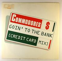 """12"""" Maxi - Commodores - Goin' To The Bank (Credit Card Mix) - D273"""