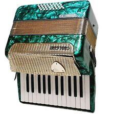 Delicia Pianola - Akkordeon Fischerklavier Ziehharmonika Smaragdgrün Grün RAR