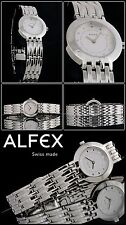 alfex Damenuhr Quarz 5459-002 Swiss Made UVP 239 00 Euro