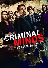 Criminal Minds Season 15 Complete DVD Region 1  Brand New