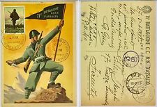 111) Cartolina 71 Battaglione CC.NN. d'Assalto