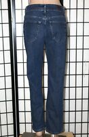 "LEE RIDERS Women's Size 10P Petite Straight Leg Stretch Denim Jeans 28"" Inseam"