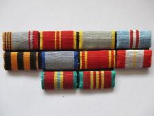 alte UDSSR Interimsspange Spange 10 teilig Uniform Orden CCCP Sowjet Armee