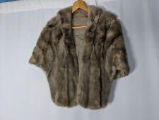 Aurelia Le Donne Mink Stole Fur Winter Wear Woman's Clothing