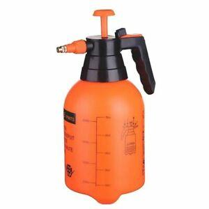 2 Litre Pressure Sprayer Spray Manual Bottle Knapsack Water Weed Killer Garden