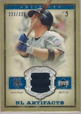 2006 Artifacts BLUE RELIC NL-WR David Wright METS 223/325