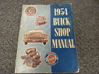 1954 Buick Century Roadmaster Skylark Super Special Shop Service Repair Manual
