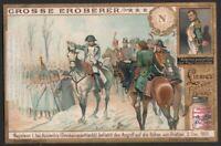 1805 Napoleon I Commanding The Battle Of Pratzen c1903 Trade Ad Card