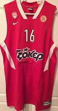 Olympiacos Olympiakos issued Basketball Jersey official Papanikolaou #16 XXL