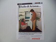 advertising Pubblicità 1977 FRIGORIFERO ARISTON UFC 290