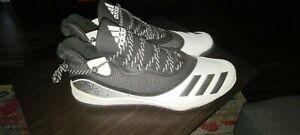 Adidas Mens 18 Icon V Turf Trainer Baseball Shoes Cleat Black White G28300 NWT
