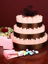 66 Pink Favor Boxes 3 Tier Cake Kit. Weddings, Parties,Engagements,Hens Night...