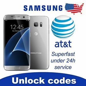 FACTORY UNLOCK SERVICE AT&T CODE SAMSUNG FOR GALAXY S10 S9 S8 NOTE 5,4,3 ACTIVE