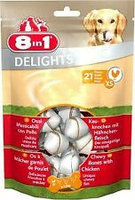 8 In 1 Delights Chicken Value Bag XSmall - 13456