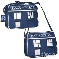 New Doctor Who TARDIS Messenger Bag Shoulder Back To School Gym Retro Official