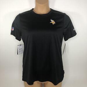 Nike Dri Fit NFL OnField Apparel Minnesota Vikings T-Shirt Women's Medium M