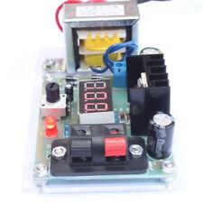 Lm317 Adjustable Voltage Regulated Power Supply Diy Kit w/ Transformer Tool S7M5
