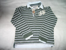 Orig. R 95 TH  -cooles interessantes Rugby Langarm-Polo  f. 6 Jahre /128