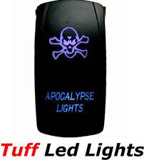 Tuff LED Lights - Two Way Blue Apocalypse Rocker Switch