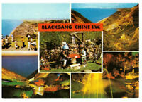 Blackgang Chine, Isle of Wight, England Rare Multiview Postcard