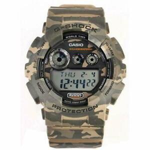 Casio GD120CM-5 G-Shock Digital Brown Dial Resin Strap Men's Watch