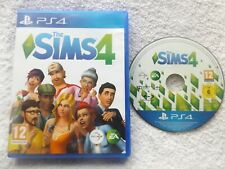 THE SIMS 4 MAIN GAME PS4 PLAYSTATION 4 V.G.C. FAST POST ( simulation game )