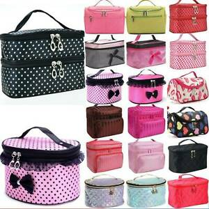 Women Nake Up Bag Case Travel Cosmetic Organiser Beauty Narge Ntorage Box Bag N!
