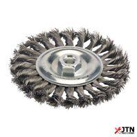Silverline 719823 Steel Twist Knot Wire Wheel 150mm