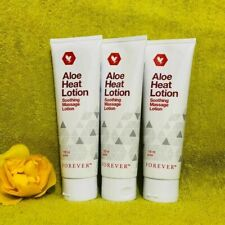 3 X Forever Living Heat Lotion Aloe Vera gel - Heat Lotion