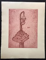 Peter Bömmels, Dare, Radierung, 1988, handsigniert und datiert