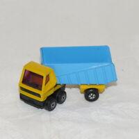 Vintage Lesney Matchbox Super Fast # 50 Articulated Truck Toy Diecast Car 1973