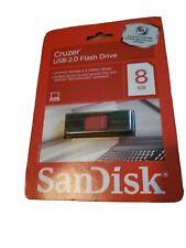 Sandisk Cruzer USB 2.0 Capless 8GB Flash Drive