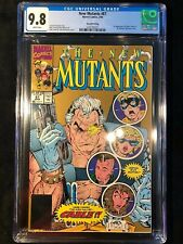 New Mutants #87 CGC 9.8 White Pages Second 2nd Print Cable Gold Edition