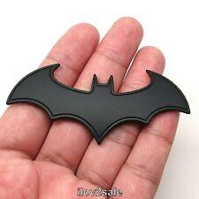The Dark Knight BATMAN Bat Emblem Black Metal Car Styling 3D Sticker Badge Decal