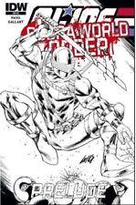 G.I. Joe Cobra Rob Liefeld VIP Sketch Variant IDW So Cal Con New World Order GI