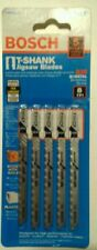 Bosch T111CF 5 PC T-Shank 8 TPI Jigsaw Blades