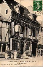 CPA Le Grand-Andely - Hostellerie du Grand Cerf Facade (392953)